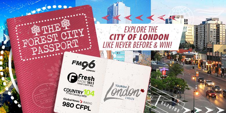 Tourism London | Forest City Passport
